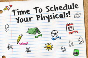 $35 School Sports Physical Exams