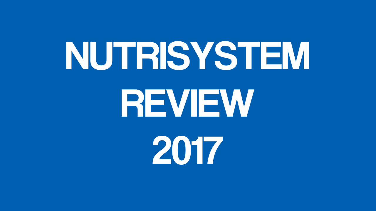 Nutrisystem Reviews: Nutritional Weight Loss Program for Both Men and Women