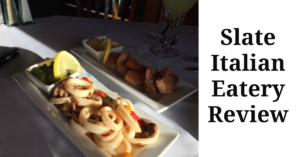 Low Carb Restaurant Review  Slate Italian Eatery