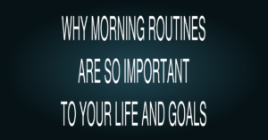 Morning Routines Daily Goals and Weight Loss Fort Collins CO 2017