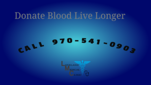 Donate blood Live Longer