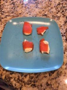 cream cheese  with wild Alaskan salmon Loveland Medical weight loss clinic